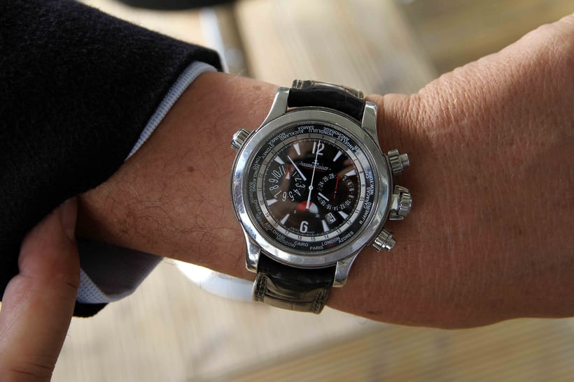 Jaeger LeCoultre Master Compressor Extreme World Chronograph.