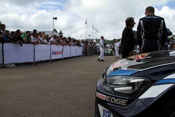 Jari-Matti Latvala's VW Polo R WRC.