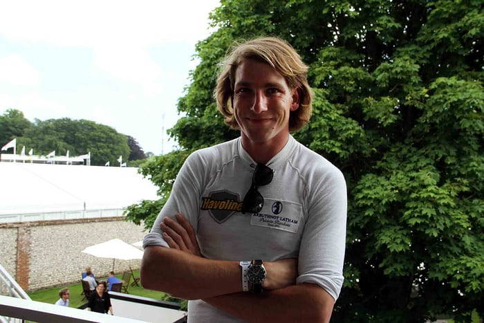 Freddie Hunt, son of the legendary F1 champion James Hunt, unveiled a new TAG Heuer made in his father's honour.