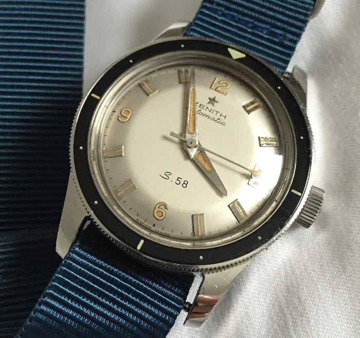 Zenith S.58 Diver
