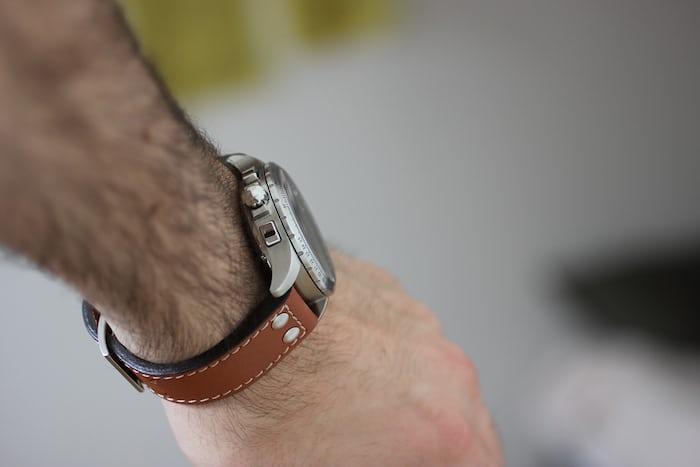 Hamilton Khaki X-Wind Auto Chrono wrist