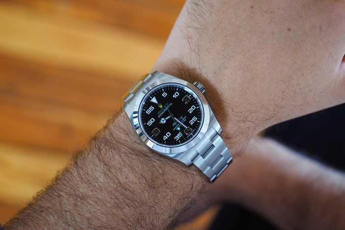 A Week On The Wrist The 2016 Rolex Air King Reference