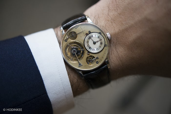F.P. Journe's first wristwatch ever