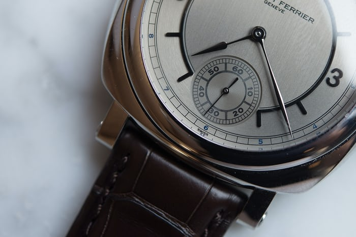 The Laurent Ferrier Galet Square Vintage 1 Limited Edition seconds