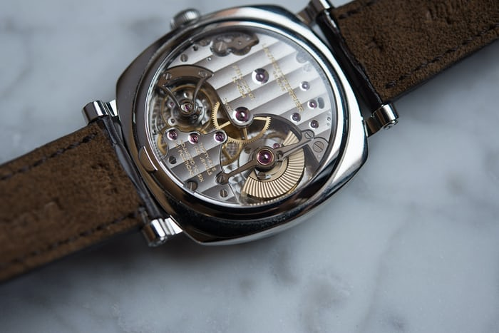The Laurent Ferrier Galet Square Vintage 1 Limited Edition movement