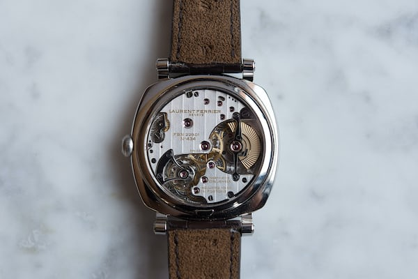 The Laurent Ferrier Galet Square Vintage 1 Limited Edition verso