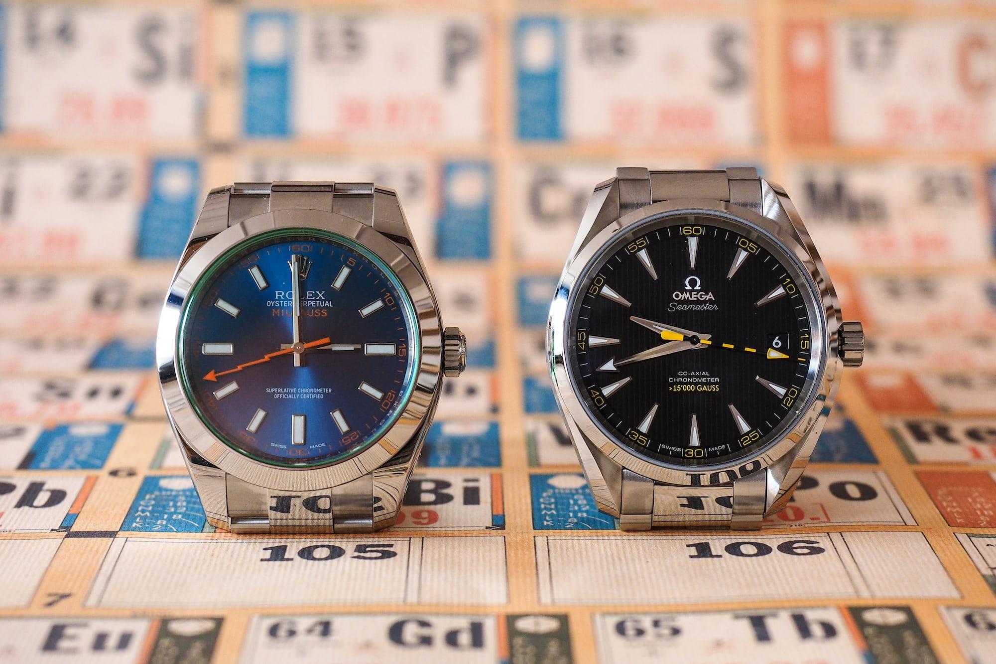 Sunday Rewind: A Rolex Milgauss, An Omega >15,000 Gauss, And A 4,000 Gauss Neodymium Magnet