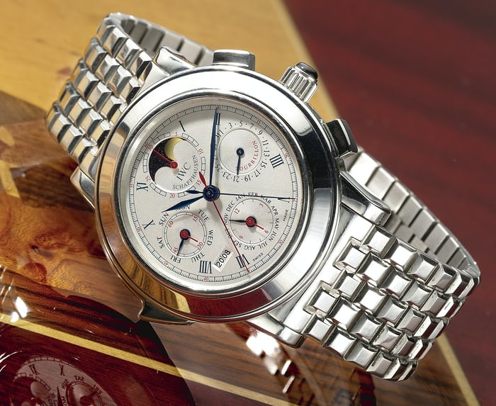 The IWC Grande Complication wristwatch, reference 3770