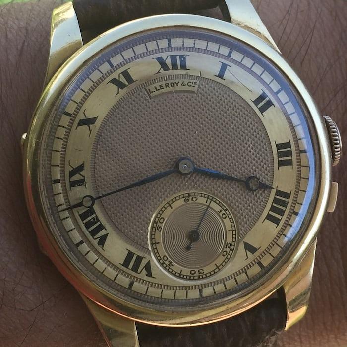 Leroy & Cie Chronometre