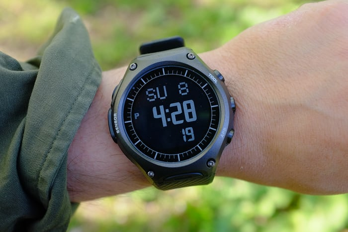 casio wsd f10 outdoor connected watch
