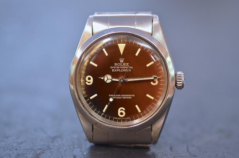 Rolex Explorer 1016 Tropical