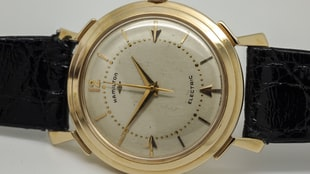 The First Battery-Powered Watch