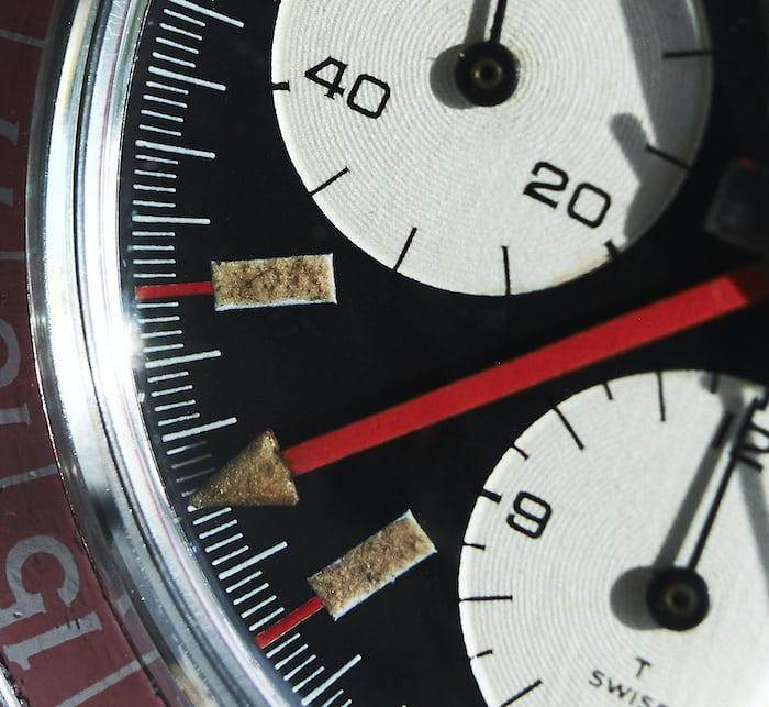 Heuer Autavia 2446C GMT dial
