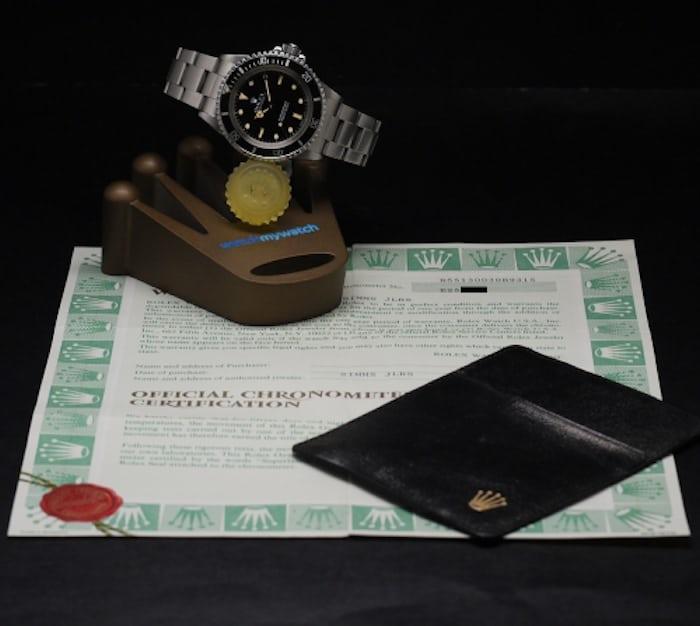 Rolex Submariner 5513 Full Set