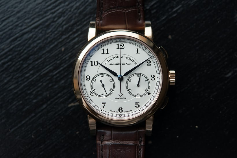 a lange sohne 1815 chronograph rose gold