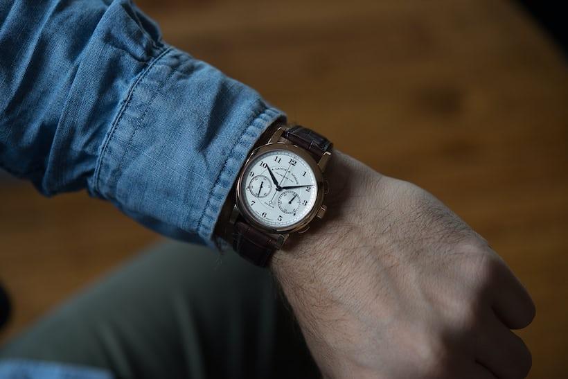 a lange sohne 11815 chronograph