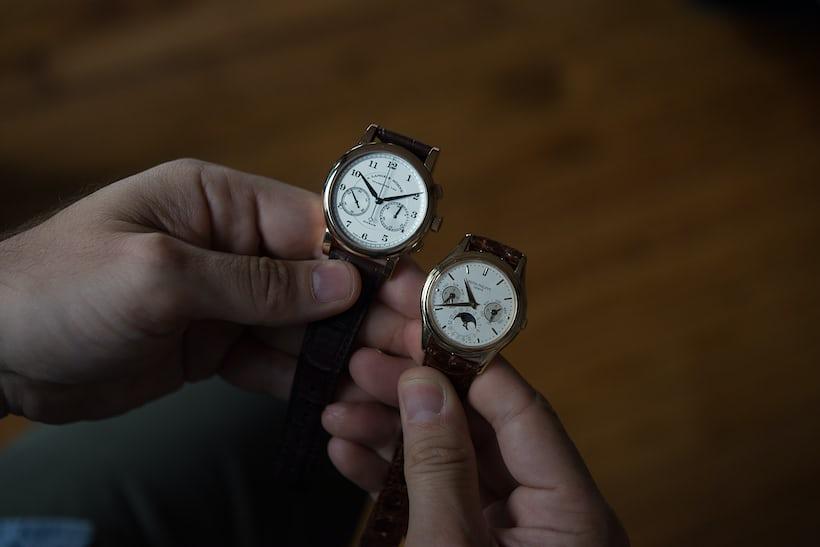 patek philippe 3940 a lange sohne 1815 chronograph