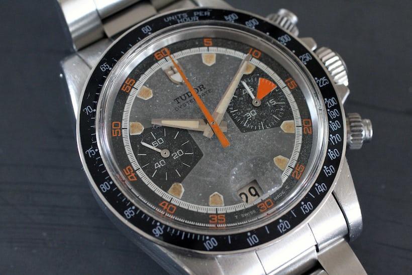 tudor reference 7031 homeplate chronograph