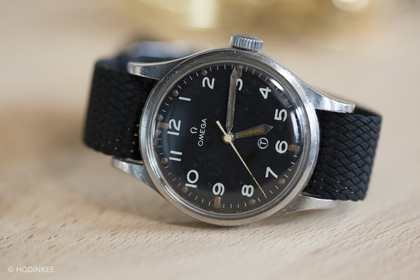 omega military watch hodinkee