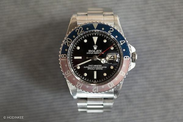 gilt dial rolex gmt hodinkee
