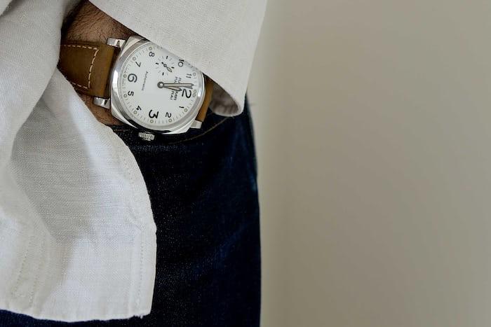panerai radiomir 1940 white dial