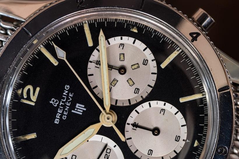 Breitling 765 AVI Lip marking