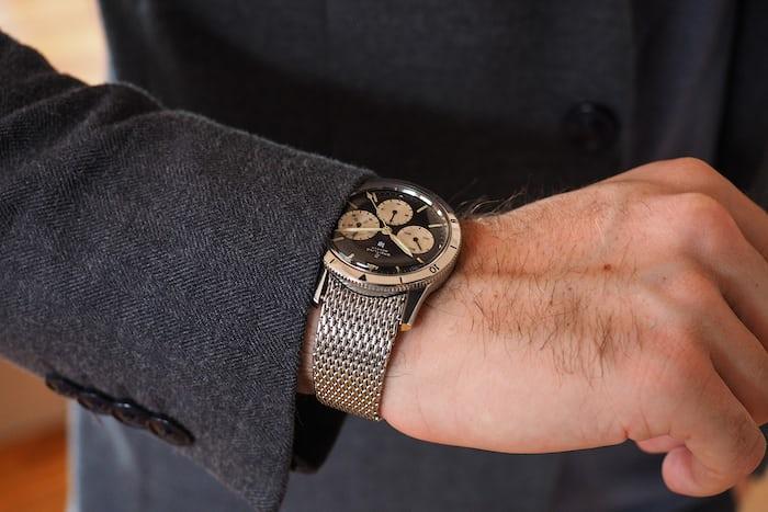Breitling 765 bracelet Wristshot
