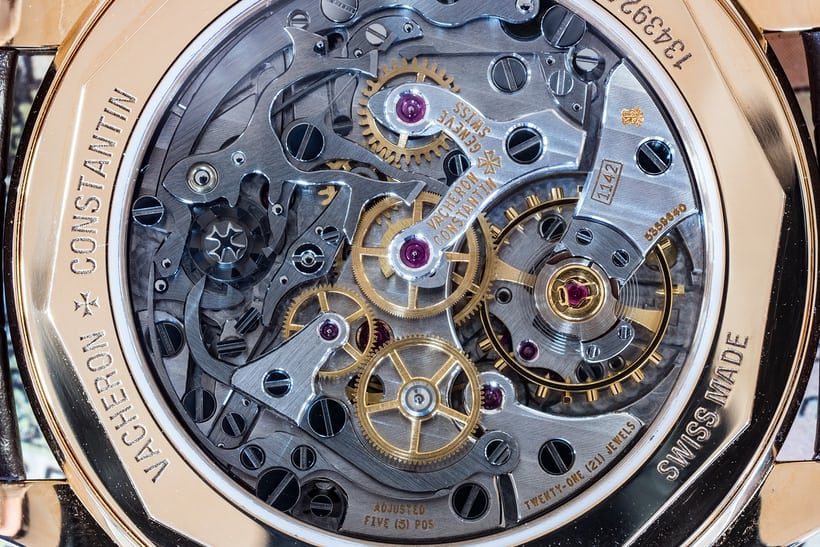 Vacheron Constantin caliber 1142 stopped