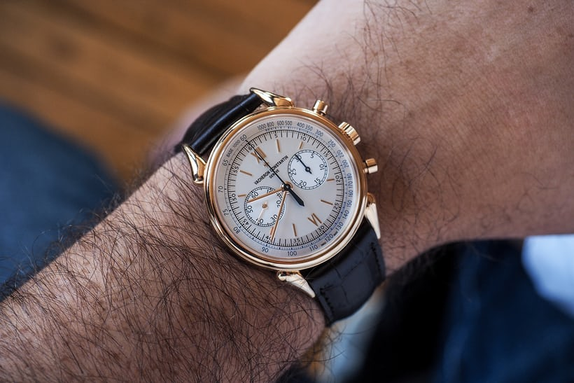 manual chronograph vacheron constantin