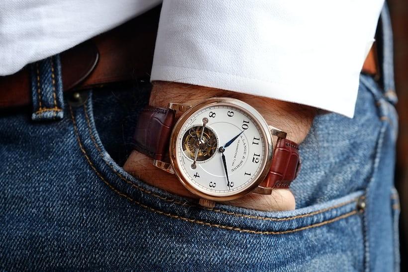 a lange sohne 1815 tourbillon wrist