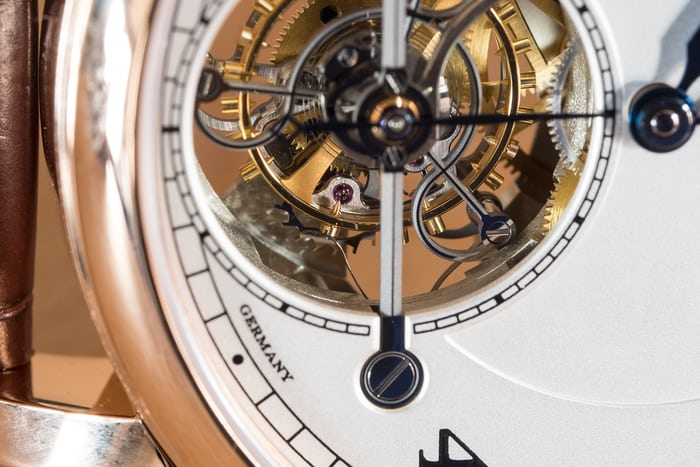 a lange sohne 1815 tourbillon stop-seconds