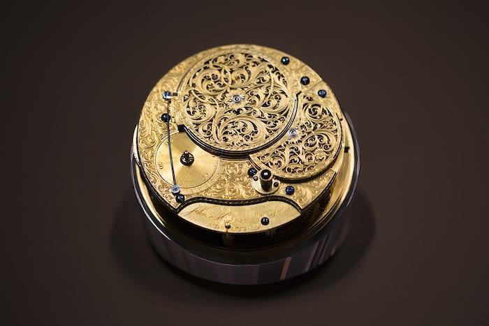 The movement of John Harrison's H4 marine chronometer.