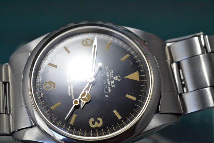 Rolex Space-Dweller glossy dial
