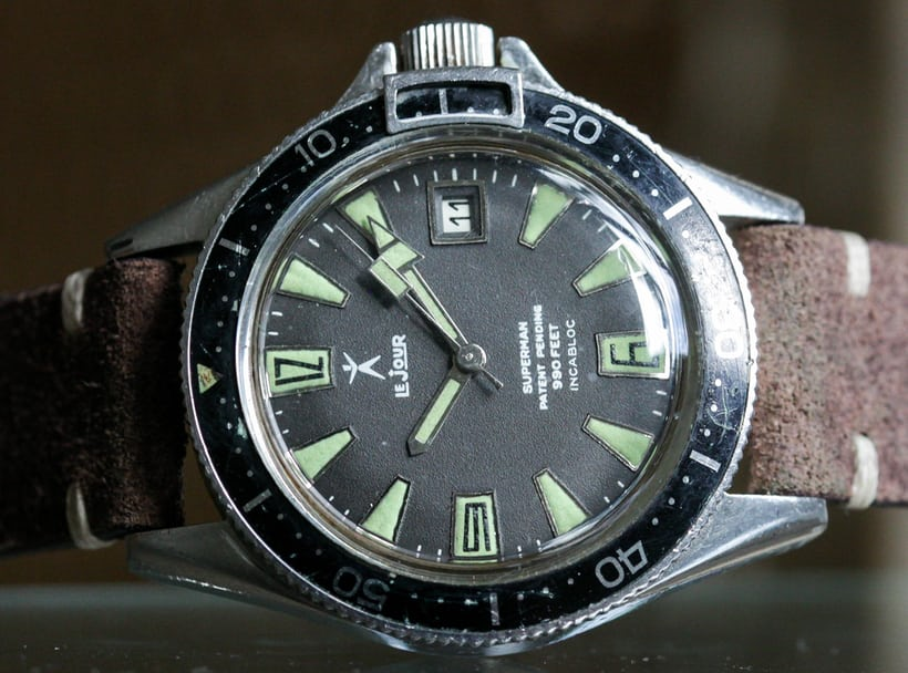LeJour Superman dive watch