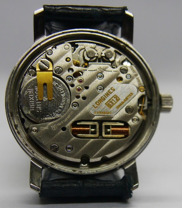 Longines ultronic movement 6312