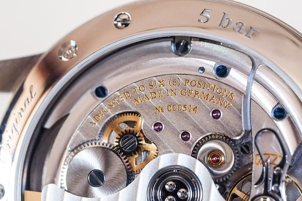 Glashutte Original's Caliber 36