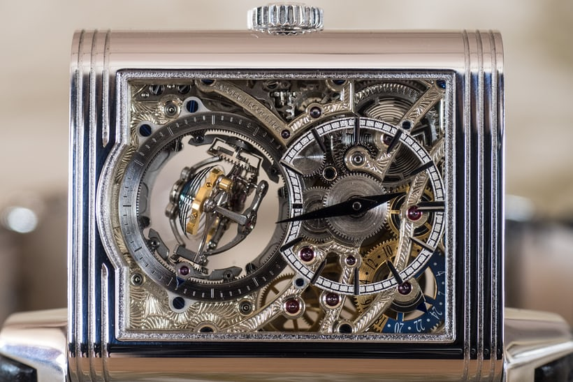 Jaeger-LeCoultre Reverso Tribute Gyrotourbillon second time zone