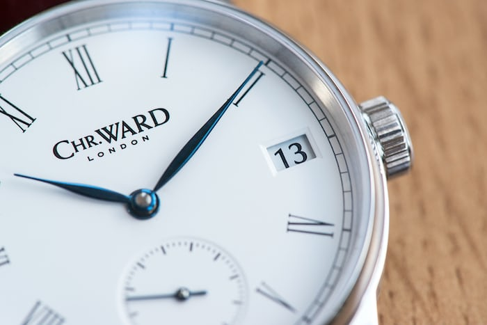 Christopher Ward C9 5 Day Small Second Date window