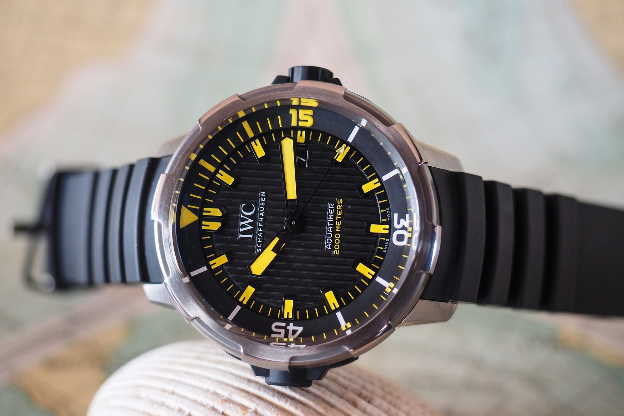 IWC Aquatimer 2000 Technical Perspective: What Dive Watch Depth Ratings Really Mean (And Whether You Can Trust Them) Technical Perspective: What Dive Watch Depth Ratings Really Mean (And Whether You Can Trust Them) P8080008