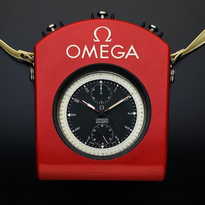omega vintage stopwatch olympics