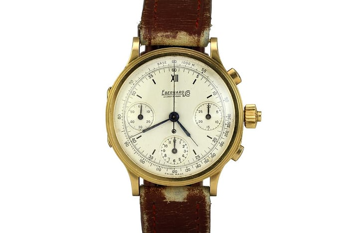 Eberhard Split Seconds Gold