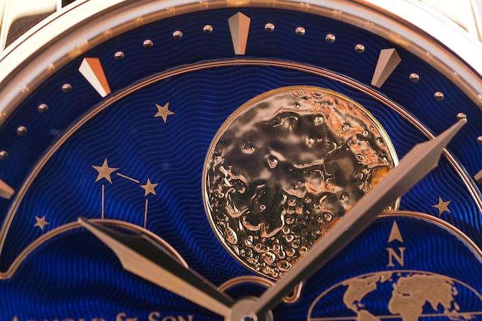 Arnold & Son HM Double Hemisphere Perpetual Moon northern hemisphere