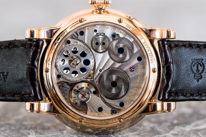 Arnold & Son HM Double Hemisphere Perpetual Moon movement