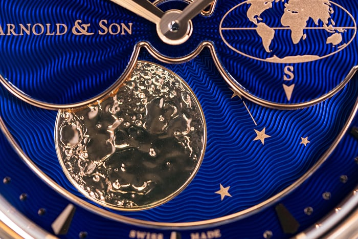 Arnold & Son HM Double Hemisphere Perpetual Moon southern hemisphere