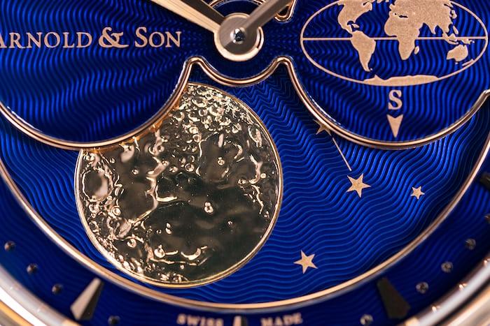 Arnold & Son HM Double Hemisphere Perpetual Moon southern hemisphere