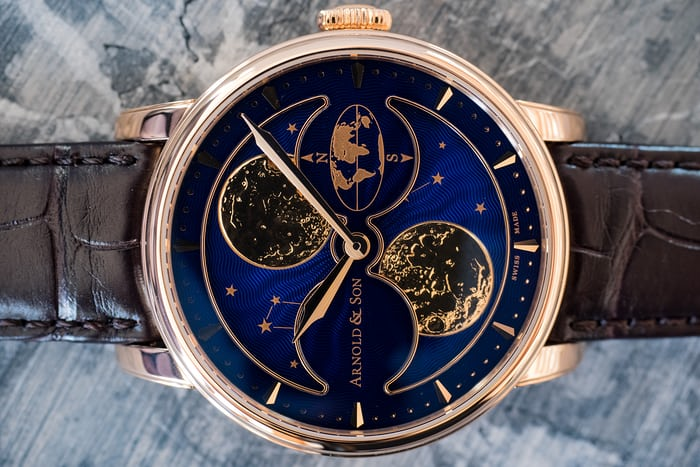 Arnold & Son HM Double Hemisphere Perpetual Moon mood
