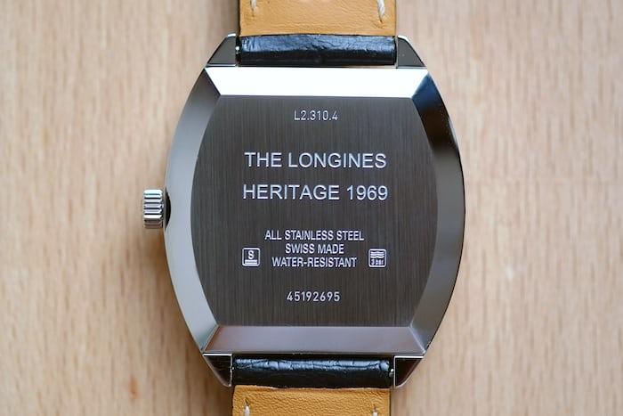 longines heritage 1969
