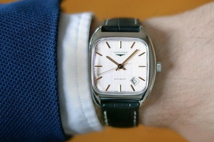 longines heritage 1969 wristshot