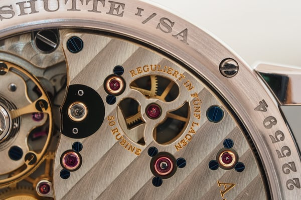 A. Lange & Söhne Richard Lange Jumping Seconds power reserve differential