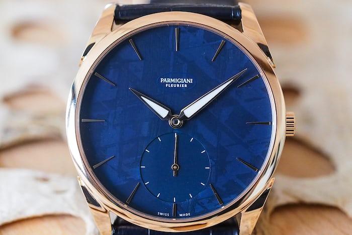 The Parmigiani Fleurier Tonda 1950 Special Edition Meteorite 'Abyss Blue'